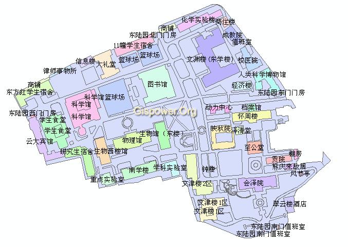 昆明圆通山动物园地图